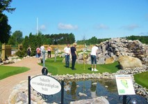 Adventure Golf at Haverdals Camping