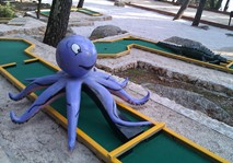 Octopus obstacle from City Golf Europe