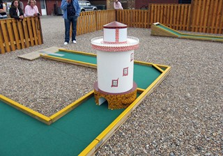 Light House obstacle mini golf