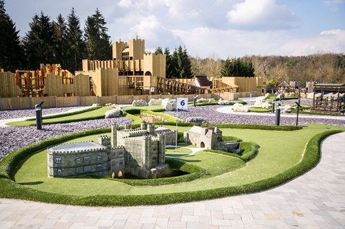 Adventure golf, leeds castle